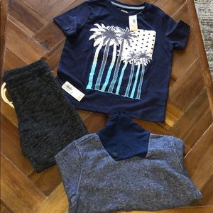 3 piece boy lot old navy and Crazy 8